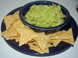 Green onion guacamole